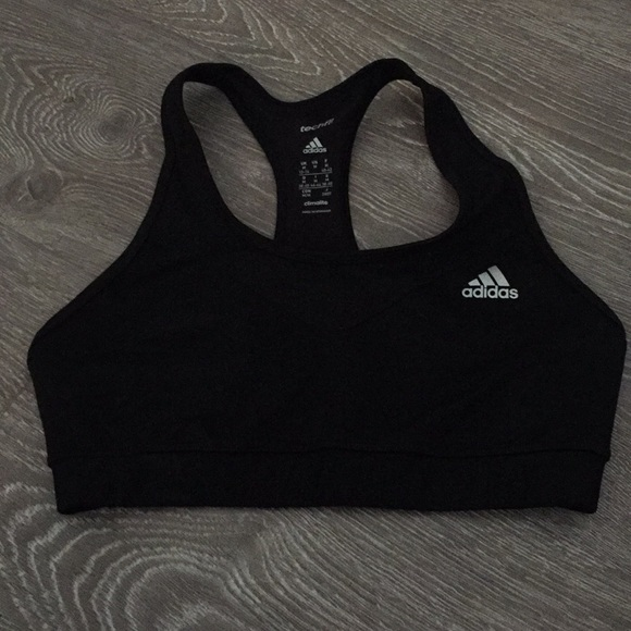 buy cheap best supplier wide range Women's Adidas Climate Black Sports Bra